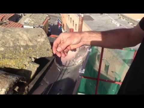 Linea elettrificata 3° parte: Inserimento barre in acciaio inox