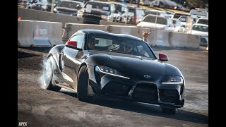 2020 Toyota Supra - Drifting At Barrett-Jackson