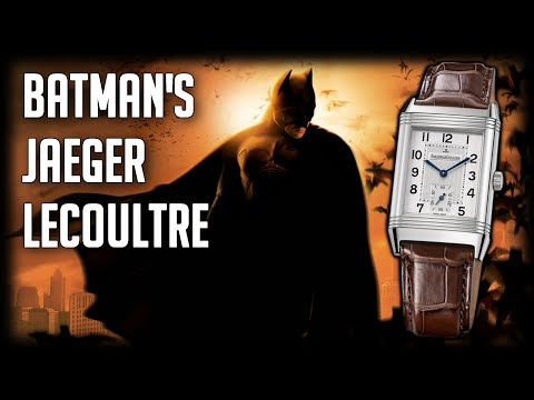 Jaeger LeCoultre Reverso Grande Taille   Batman Begins   Cool Watches in Film