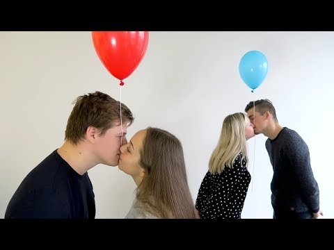 Crazy Balloon Kiss Challenge for $1000