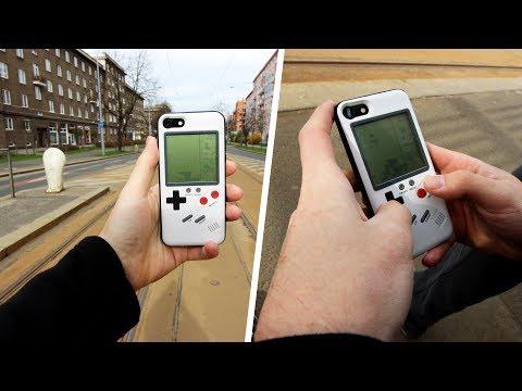 FUNKČNÍ WANLE GAMEBOY KRYT NA IPHONE!!! | Vlog #030