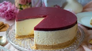 Чизкейк без выпечки|No baked cheesecake