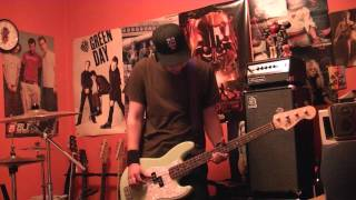 "Angels And Airwaves ""Shove"" Bass Cover"