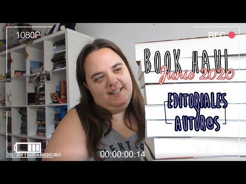 BOOK HAUL || Junio 2020