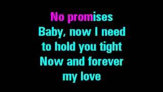 No Promises   Shayne Ward   Karaoke Flv