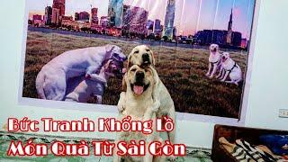 Bức Tranh khổng lồ - Món Quà Đặc Biệt của Cô Thu Sài Gòn