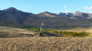 Таймлапс на Курайский хребет altai camp