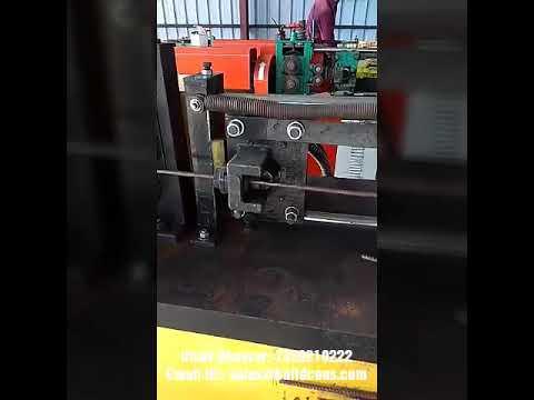 TMT Rebar Decoiling Machine