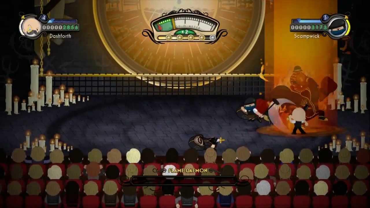 Der theatralische Prügler Foul Play erscheint bald für PS4 und PS Vita