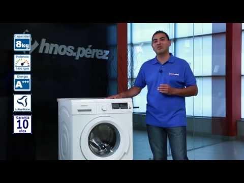 Lavadora Siemens WM14Q468ES | Hermanos Pérez
