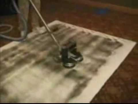 Rotovac Carpet Cleaning Demo from A Cleaner World