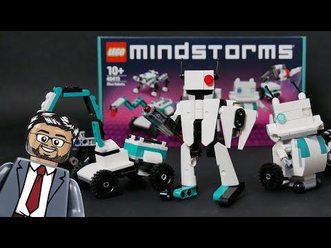 Vidéo LEGO Mindstorms 40413 : Mini Robots