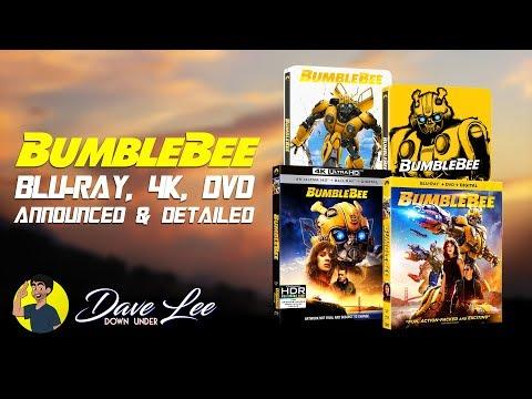 BUMBLEBEE - Blu-ray, 4K, DVD Announced & Detailed
