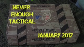 Never Enough Tactical January 2017 box
