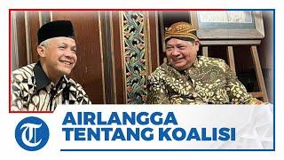 Ini Jawaban Airlangga Hartarto saat Ditanya tentang Koalisi dengan Ganjar Pranowo di Pilpres 2024