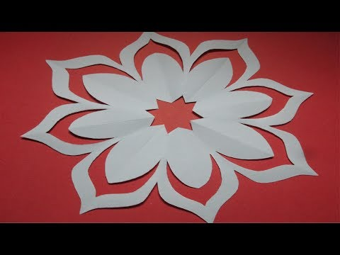 How To Make Simple & Easy Paper Cutting Flower Designs/ Paper Flower/DIY Tutorial By  Step By Step. Mp3