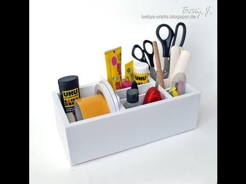 Utensilien-Box - Desktop Organizer