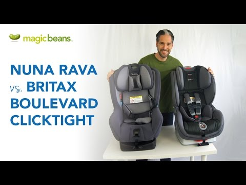 Nuna Rava vs Britax Boulevard Clicktight Convertible Car Seat | Best Most Popular | Comparison