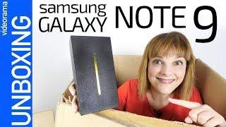 Samsung Galaxy Note 9 unboxing y primeras impresiones -MÁS de TODO-