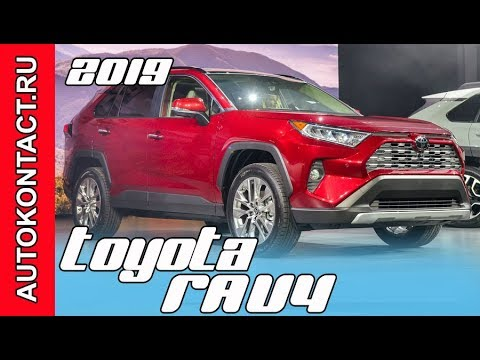Toyota  Rav 4 Кроссовер класса J - тест-драйв 3