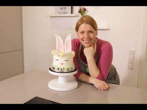 Hasentorte für Ostern | Tortenrezepte | Backen mit Liebe | Juli Liebe ♥