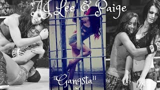 Paige/AJ Lee MV - 'Gangsta' (Requested by thibault)