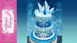 Disneys Frozen Cake-Aunties Style