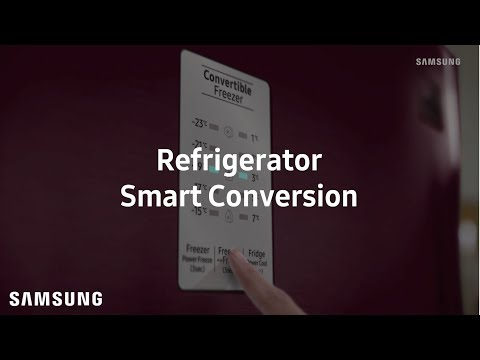 Samsung Top Freezer Refrigerator : Smart Conversion