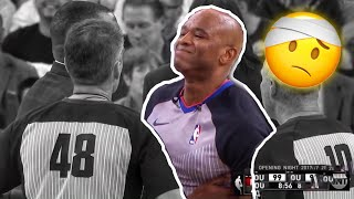 Basketball Referees Getting Injured Compilation