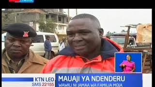Wasiwasi umegubika kijiji cha Ndenderu huko Kiambaa baada ya watu wawili wa jamii moja kuuawa