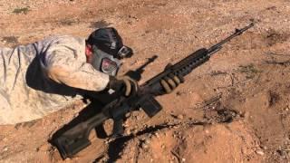 Sand Testing An AR15 M1A And MAS 49/56