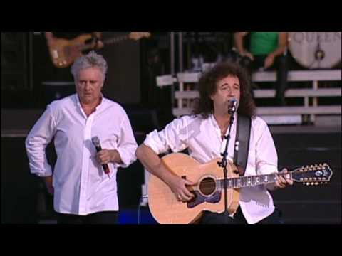 Queen+Paul Rodgers - Imagine (Live At Hyde Park 2005)