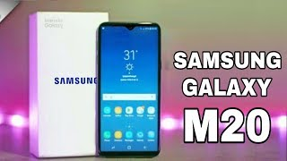 Galaxy M20 Features Video Video