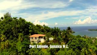 preview picture of video 'Tranquility Port Antonio Jamaica As the Bird Fly's'
