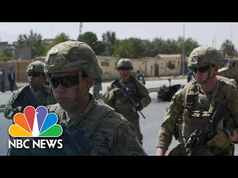Biden To Withdraw All U.S. Forces From Afghanistan By September 11 | NBC News NOW