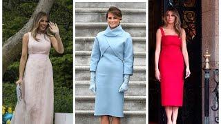 Melania Trump: The first 100 days of FLOTUS style