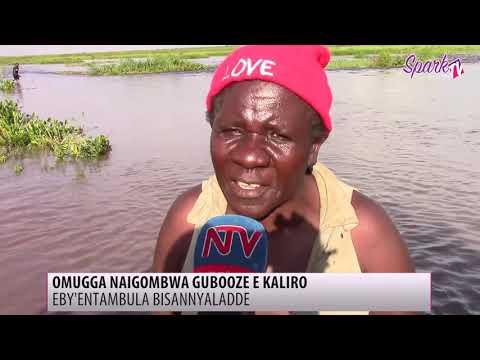 Eby'entambula bisanyaladde ku luguudo okuva e Kaliro okudda e Namutumba