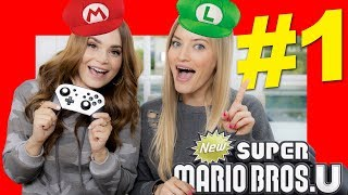 Playing Super Mario Bros U Deluxe with Ro - Part 1