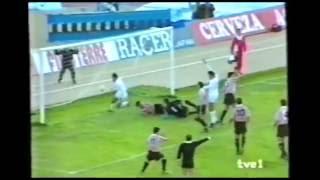 Albacete 4 - Athletic Club 0 Temp. 91/92 Jor. 6