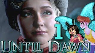 UNTIL DAWN - 2 Girls 1 Let's Play Gameplay Walkthrough Part 1: Butterfly Effect