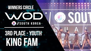 King Fam | 3rd Place Youth | Winner