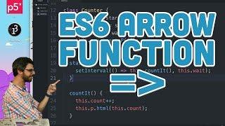 16.3: ES6 Arrow Function - Topics of JavaScript/ES6