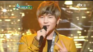 20120307 K.Will - I Need You 뮤직온탑