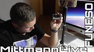 FONESO Der beste Selfie Stick für Smartphones & Cameras GoPro