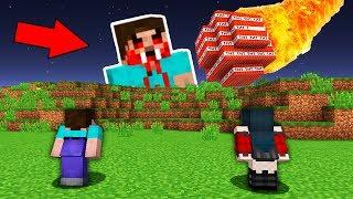 Вампир и Нуб Метеорит Майнкрафт Выживание Моды Мультик в Майнкрафте Хоррор Карты Ловушка Minecraft