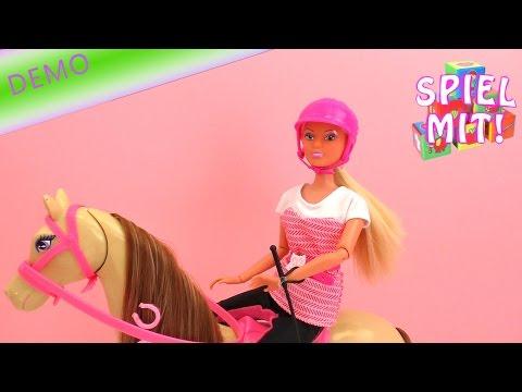Steffi Love Riding Tour Pferd und Reiterin Puppen Review