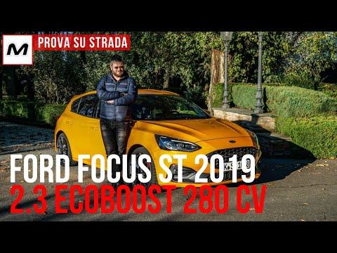 Ford Focus ST 2019 | Prova su strada in anteprima del benzina da 280 Cv