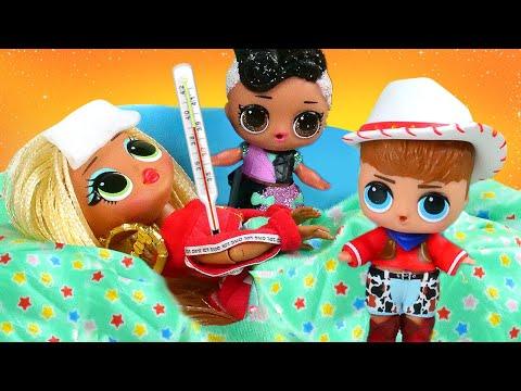 New LoL Surprise O.M.G. Dolls videos – Lol Baby Dolls help mom.