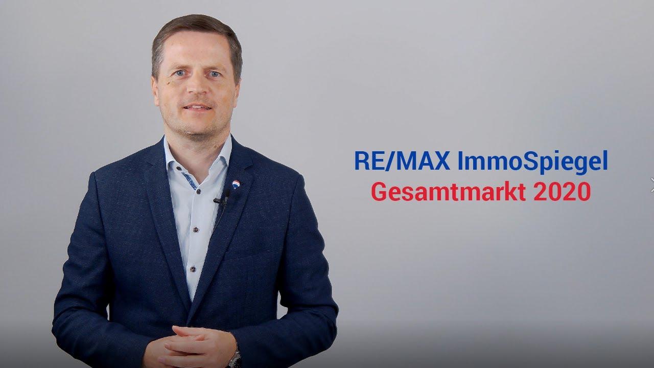 RE/MAX ImmoSpiegel - Geschäftsführer von RE/MAX Austria, Bernhard Reikersdorfer, MBA über den Immobiliengesamtmarkt 2020