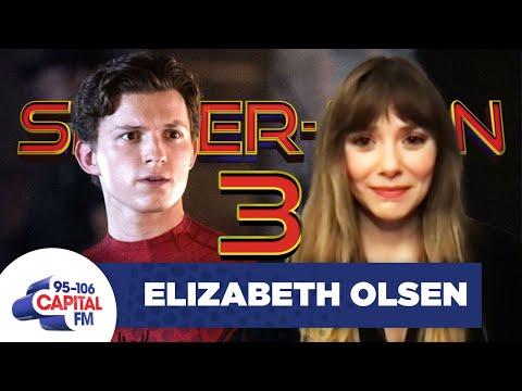"Elizabeth Olsen ""Assumes"" We'll See Her In Spider-Man 3 | Interview | Capital"